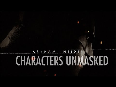 Official Batman: Arkham Insider #3 - 'Characters Unmasked'