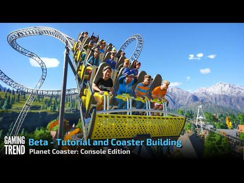 Planet Coaster Console Edition - Beta Tutorial and Coaster Building Walkthru [PS4 Pro]