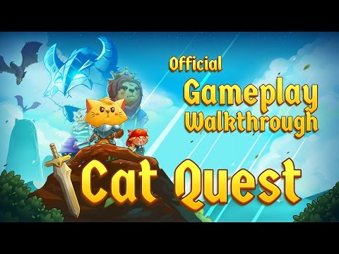 Cat Quest - Steam, iOS, Android, PS4, Switch - Official Gameplay Walkthrough