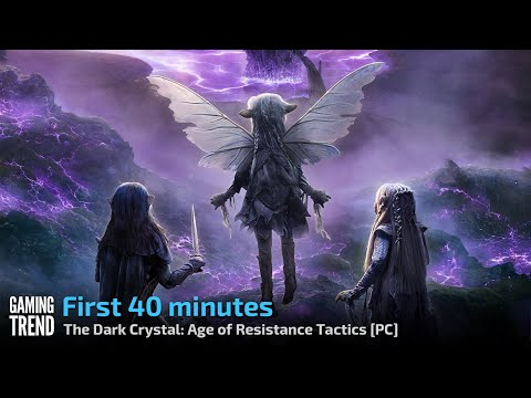 The Dark Crystal Age of Resistance Tactics - Gameplay - First 40 minutes - PC [Gaming Trend]