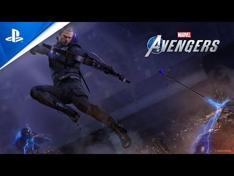 Marvel's Avengers - Hawkeye Teaser Trailer | PS4