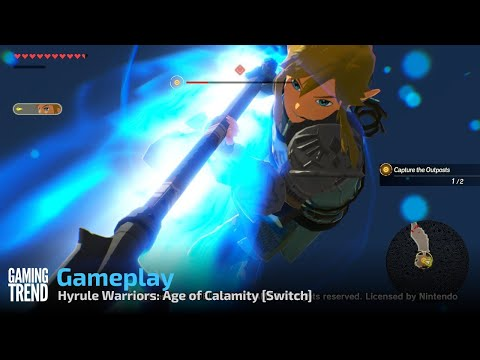 Hyrule Warriors: Age of Calamity Gameplay - Switch [Gaming Trend]
