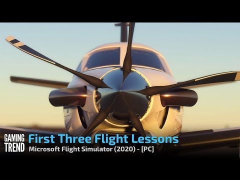Microsoft Flight Simulator - First 3 Flight Lessons - PC [Gaming Trend]