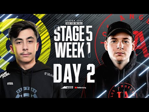 Call Of Duty League 2021 Season | Stage V Week 1 — New York Home Series | Day 2