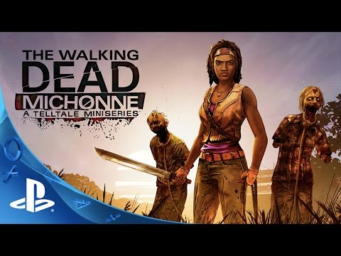 'The Walking Dead: Michonne - A Telltale Miniseries' Extended Preview | PS4