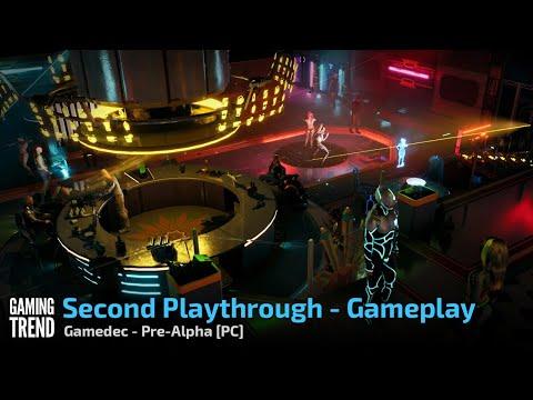 Gamedec - Pre-Alpha Gameplay - Alternate Playthrough Video - PC [Gaming Trend]