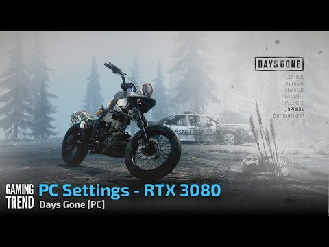 Days Gone - PC Settings - RTX 3080 [PC] - Gaming Trend