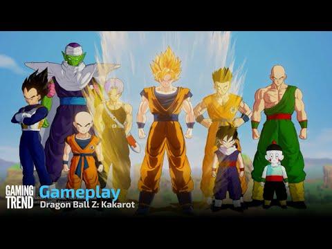 Dragon Ball Z: Kakarot Gameplay - Switch [Gaming Trend]