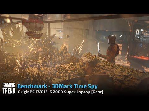 OriginPC EVO-15S - 3DMark Time Spy Benchmark [Gaming Trend]