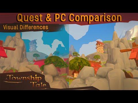A Township Tale VR RPG: Quest vs PC Comparison
