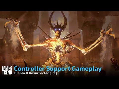 Diablo II Resurrected - Using a controller on PC [Gaming Trend]