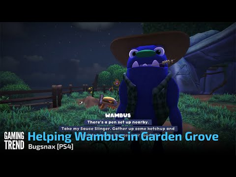 Helping Wambus in Garden Grove - Bugsnax [PS4] - [Gaming Trend]