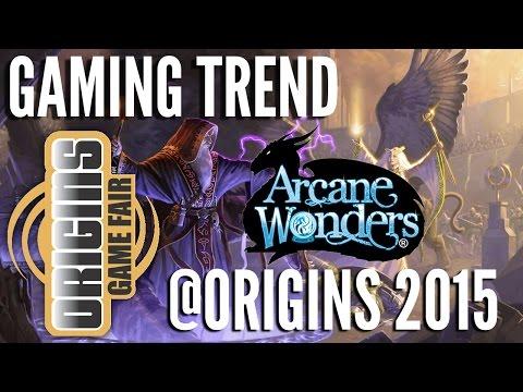 Arcane Wonders @ Origins 2015 - [Gaming Trend]