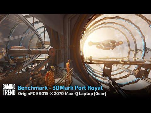 OriginPC EON15-X 2070 Max-Q AMD Laptop - Benchmark - 3DMark Port Royal [Gaming Trend]
