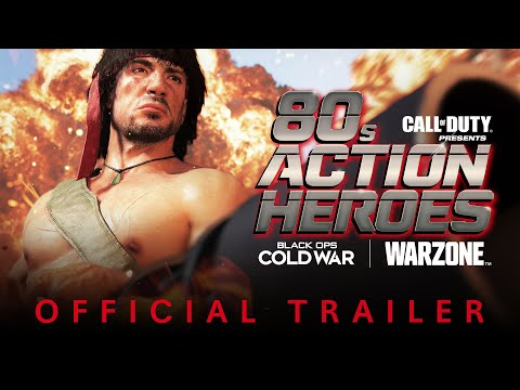 80's Action Heroes Trailer   Season Three   Call of Duty®: Black Ops Cold War & Warzone™