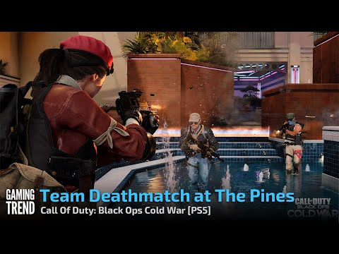 Team Deathmatch at The Pines - Call Of Duty: Black Ops Cold War [PS5] - [Gaming Trend]