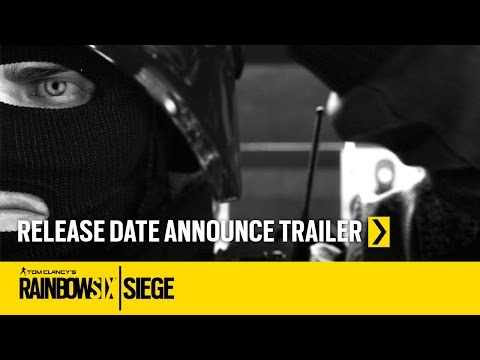 Tom Clancy's Rainbow Six Siege Official – Release Date Announcement Trailer [US]