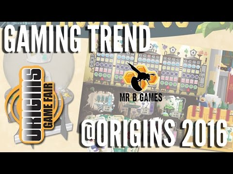 Mr B Games @ Origins 2016