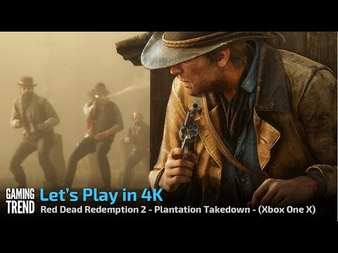 Red Dead Redemption 2 - Let's Play in 4K - Plantation Shootout - [Gaming Trend]