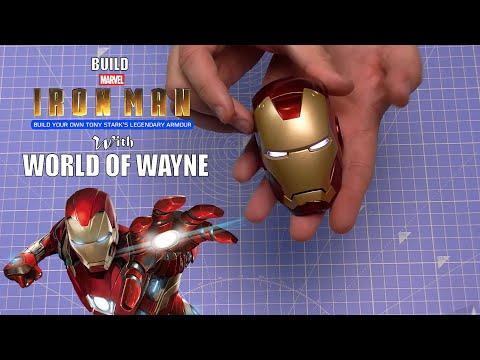 Build the Mark III Iron Man Armour - Part 1 - The Helmet