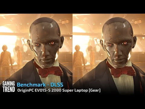 OriginPC EVO-15S - 3DMark DLSS Benchmark [Gaming Trend]