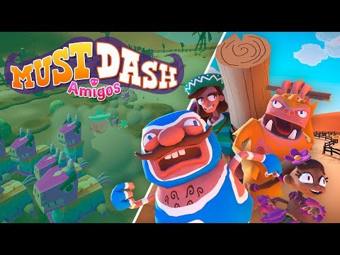 Must Dash Amigos | Xbox Launch Trailer | New Indie Game 2019