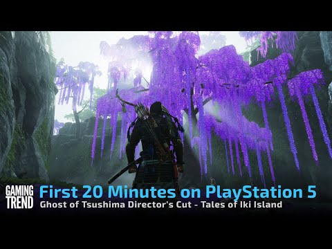 Ghost of Tsushima Director's Cut Tales of Iki Island - First 20 minutes on PS5 [Gaming Trend]