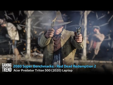 Acer Triton 500 Laptop With and Without Turbo Benchmark Red Dead Redemption 2 Gaming Trend