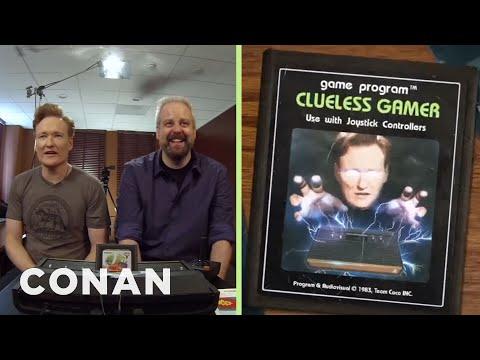 Conan O'Brien Plays Atari 2600 Classics: Clueless Gamer   Conan on TBS