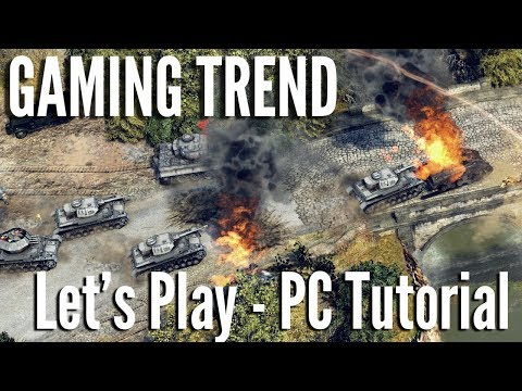 Sudden Strike 4 - Tutorial Let's Play - PC [Gaming Trend]