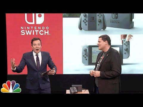Jimmy Fallon Debuts the Nintendo Switch