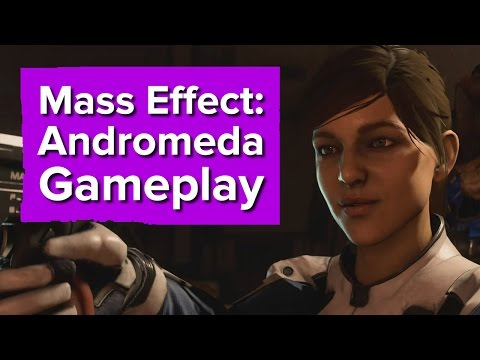 5 minutes of Mass Effect: Andromeda gameplay - The Game Awards 2016