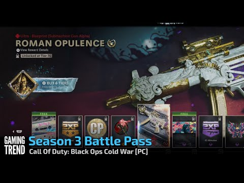 Season 3 Battle Pass - Call Of Duty: Black Ops Cold War [PC] - [Gaming Trend]