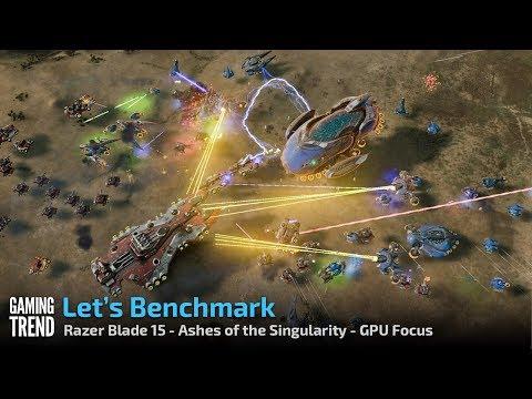 Razer Blade 15 - Ashes of the Singularity - GPU Focus Benchmark [Gaming Trend]