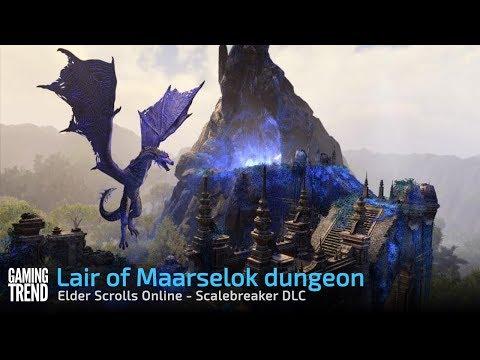 Lair of Maarselok dungeon - Elder Scrolls Online Scalebreaker DLC [Gaming Trend]