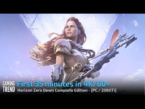 Horizon Zero Dawn Complete Edition - First 35 minutes in 4K 60fps video - PC Ultra Settings
