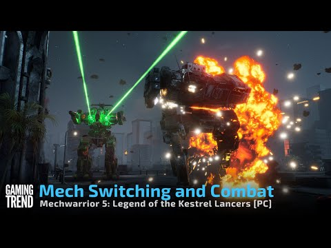 Mechwarrior 5 Mercenaries Legend of the Kestrel Lancers - Mech Switching [Gaming Trend]
