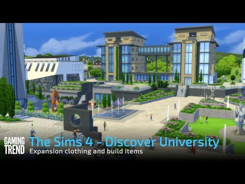 The Sims 4 - Discover University - New clothing and build items [Gaming Trend]