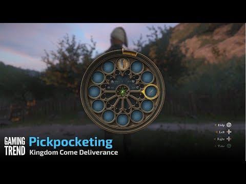 Kingdom Come Deliverance - Pickpocketing [Gaming Trend]