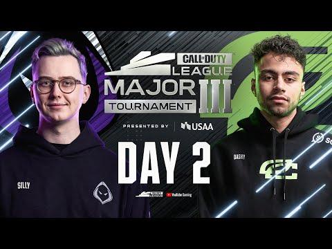 Call Of Duty League 2021 Season | Stage III Major Tournament | Day 2