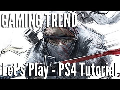 Shadow Tactics Blades of the Shogun - Tutorial Let's Play - PS4 [Gaming Trend]