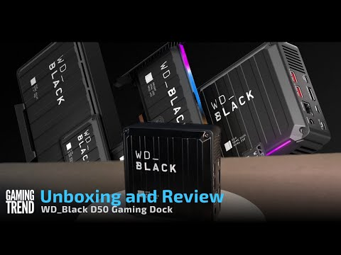 WD_Black D50 Dock Unboxing and Overview [Gaming Trend]