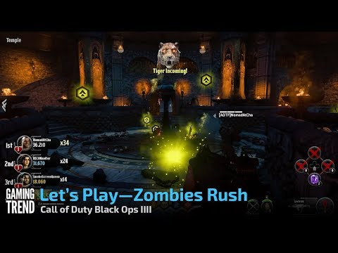 Black Ops 4- Let's Play Zombies - Rush