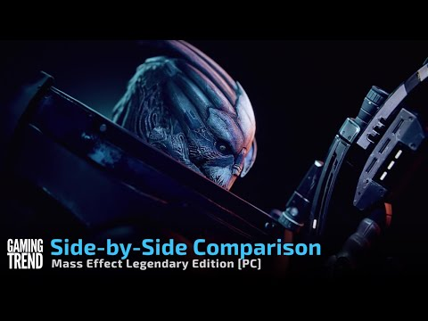 Mass Effect Legendary Edition Side by Side Comparison - PC [Gaming Trend]