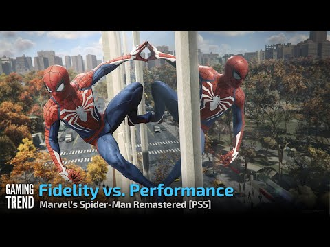 Fidelity vs. Performance - Marvel's Spider Man Remastered - [PS5] [Gaming Trend]