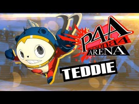 Persona 4 Arena Moves Video: Teddie