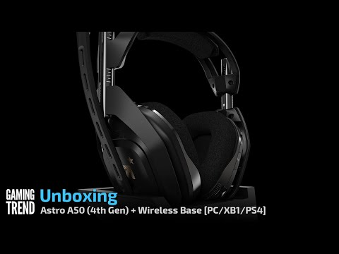 Astro A50 Headset and Wireless Base Station Unboxing - PC/PS4/XB1 [Gaming Trend]