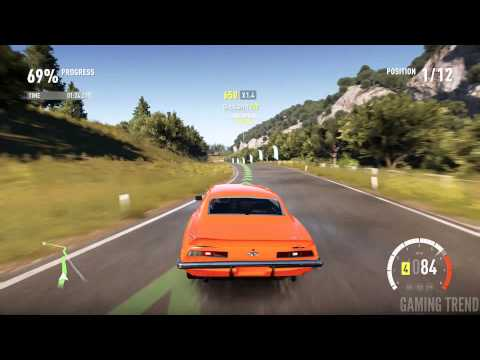 Forza Horizon 2 - Castaletto - American Muscle - Sprint Race #1