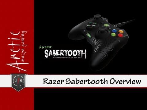 Razer Sabertooth Controller (Overview)