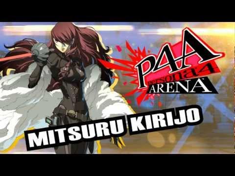 Persona 4 Arena Moves Video: Mitsuru Kirijo